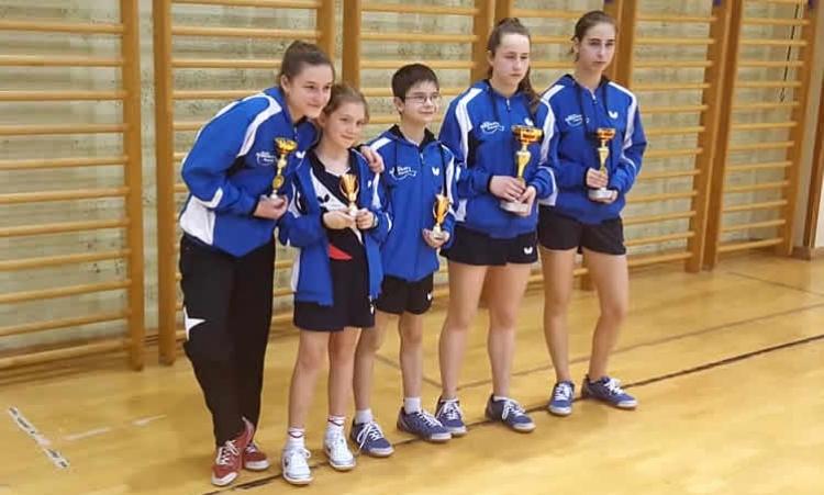 Odlični rezultati mladih igračica i igrača Mladosti na turniru u Krapini
