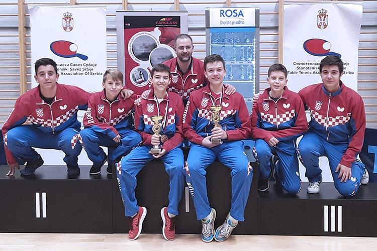 Ivor Ban osvojio dvije zlatne medalje na Serbia open-u