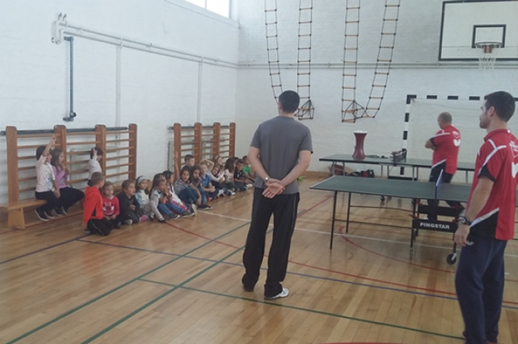 Prezentacija stolnoteniske škole