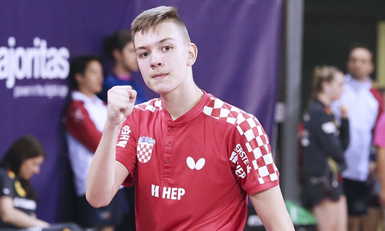 Ivor Ban osvojio drugo mjesto na juniorskom turniru ITTF -a, Czech Open