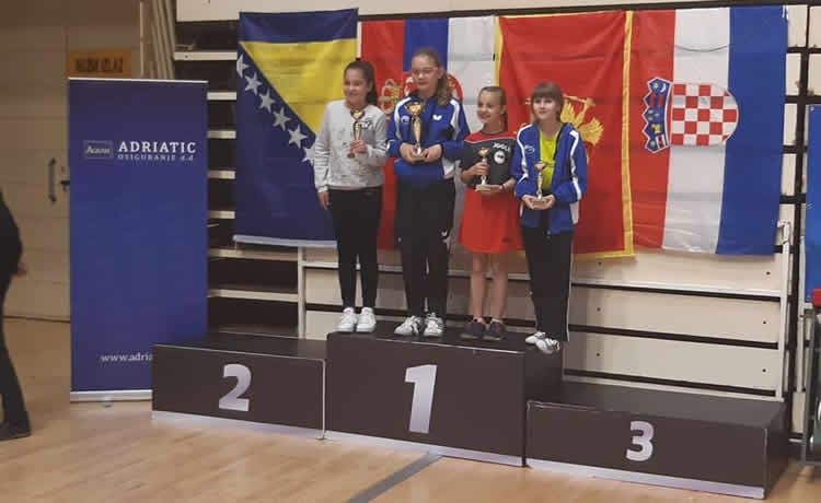Odlični rezultati mlađih kadetkinja Mladosti u Tuzli